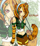Red Panda COLORED