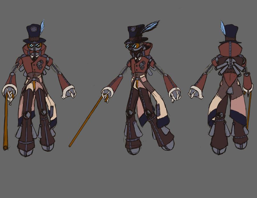 Character Design Uk : Character design gentlebot by koukhanganimation on