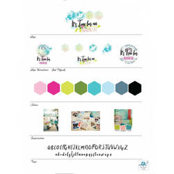Travel Agent logo and mood board