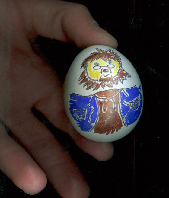 Dee egg by mye-alias