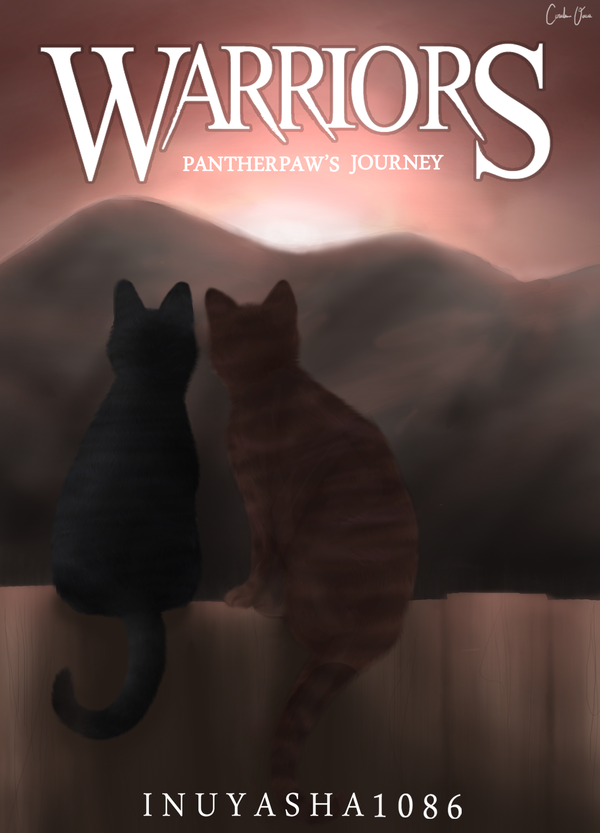 Pantherpaw's journey Cover Page by inuyasha1086