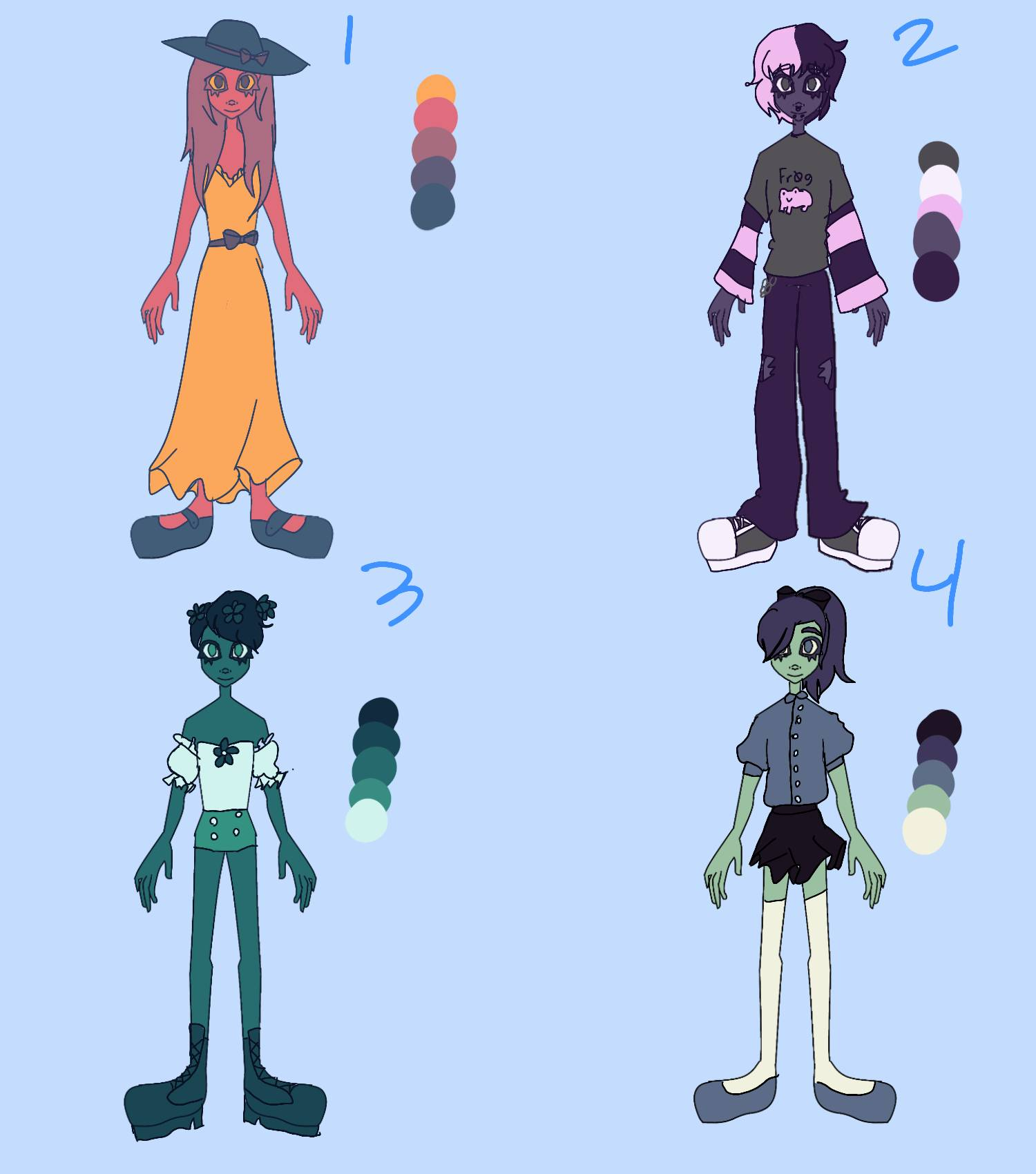 Color Pallete Adopts!! [OPEN]
