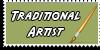 Stamp - Traditional artist [dark green] by ShiStock