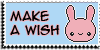 Stamp - Make a wish [blue] by ShiStock