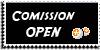 Stamp - Comission open [black] by ShiStock
