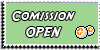 Stamp - Comission open [green] by ShiStock