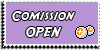 Stamp - Comission open [purple] by ShiStock