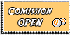 Stamp - Comission open [yellow] by ShiStock