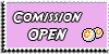 Stamp - Comission open [pink] by ShiStock