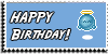 Stamp - Happy Birthday [blue] by ShiStock