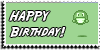 Stamp - Happy Birthday [gren] by ShiStock