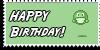 Stamp - Happy Birthday [gren] by ShiStock