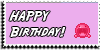 Stamp - Happy Birthday [pink] by ShiStock