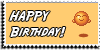 Stamp - Happy Birthday [yellow] by ShiStock