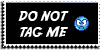 Stamp - Do NOT tag me [black] by ShiStock