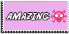 Stamp - Amazing [pink] by ShiStock