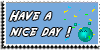 Stamp - Have a nice day [blue] by ShiStock