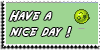 Stamp - Have a nice day [green] by ShiStock