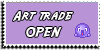 Stamp - Art trade OPEN [purple] by ShiStock