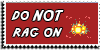 Stamp - Do not rag on [red] by ShiStock