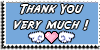 Stamp - Thank You very much [blue] by ShiStock