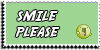 Stamp - Smile please [green] by ShiStock