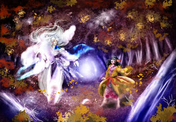 Midnight Autumn Party by Asurama