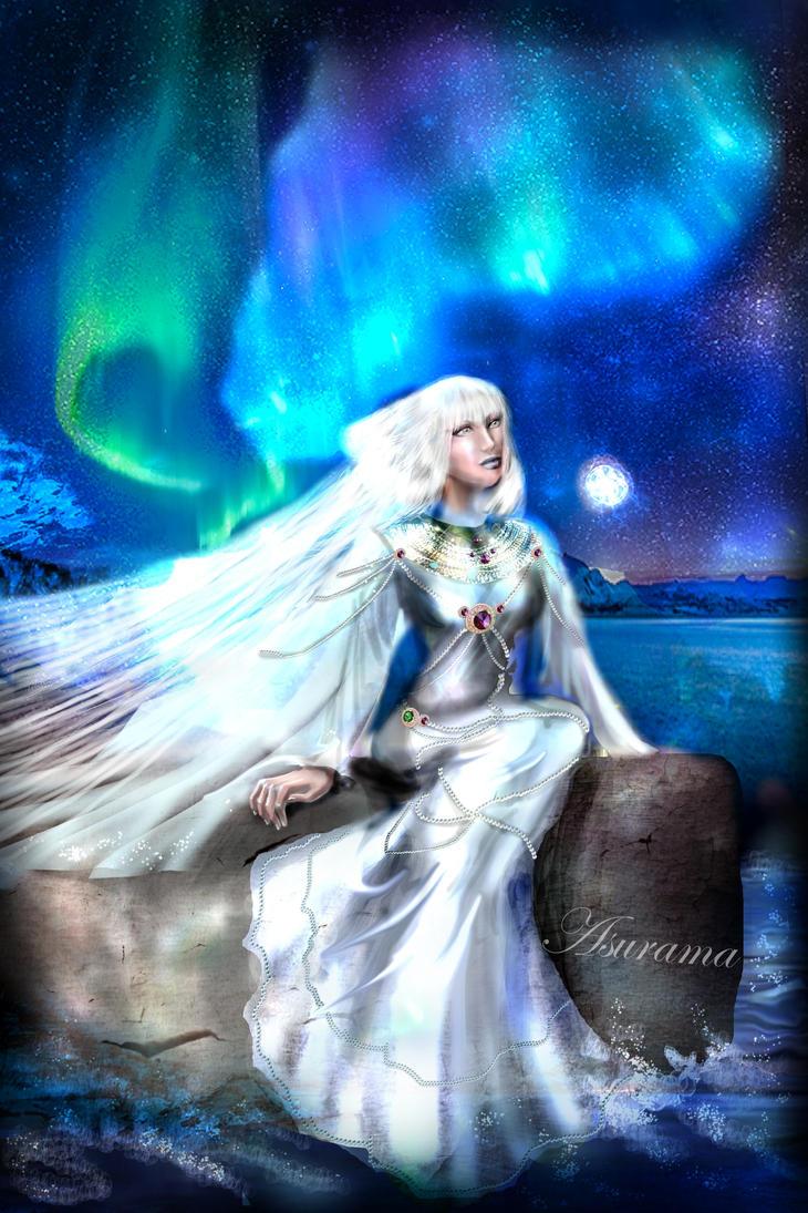 A blue dream by Asurama
