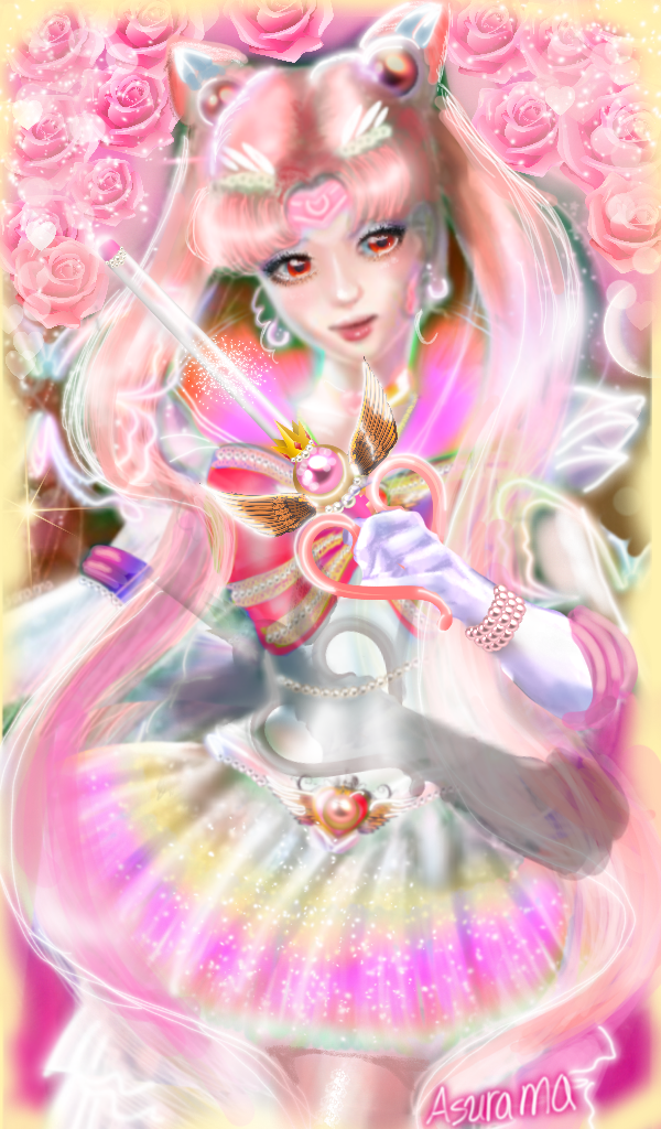 Super Sailor Chibimoon by Asurama