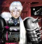 Sesshoumaru black armor by Asurama