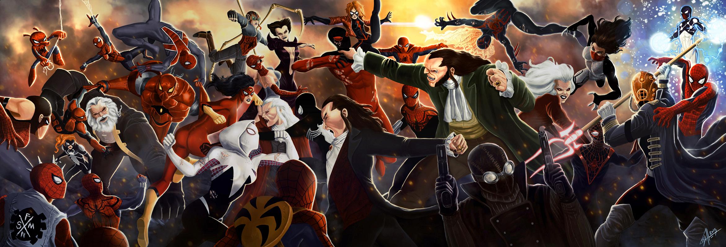 Marvel comics spider man venom wallpaper   #179132