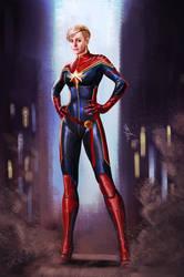 Captain Marvel by sia1965pak