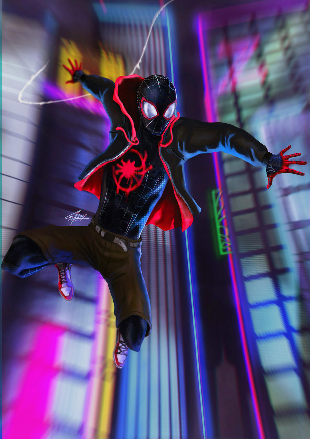 spiderman into the spiderverse favourites