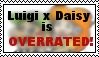 Luigi x Daisy is overrated stamp by randommariogirl741