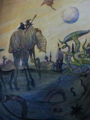 Morrowind: Silt Strider by Dacic