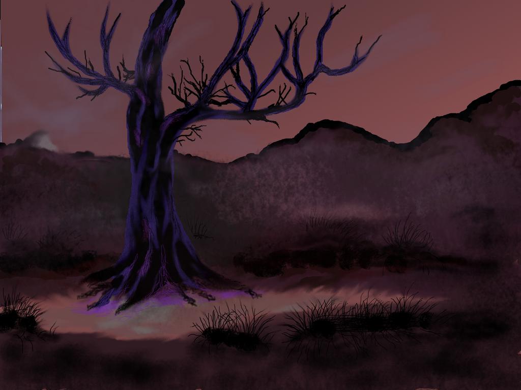 Skyrim: Sleeping Tree by Dacic