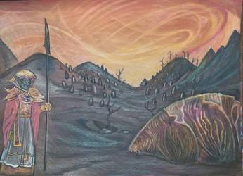 Morrowind: Ashland Desolation  by Dacic
