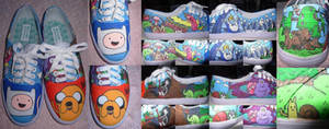 My Adventure Time Shoes