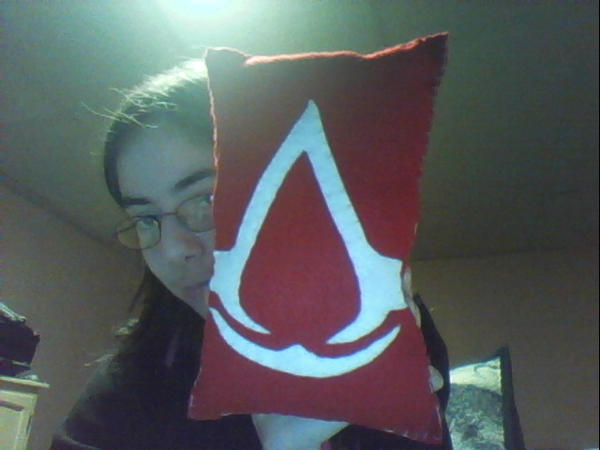 Felt Pillow - Assassins Creed by VampArtemis