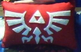 Felt Pillow - The Legend of Zelda V.1 by VampArtemis