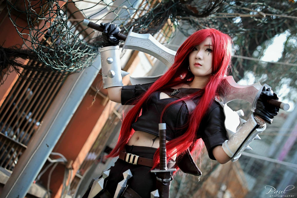 Katarina - The Sinister Blade by Satomi88