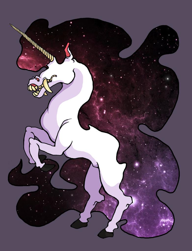 Space Unicorn by Dummernik