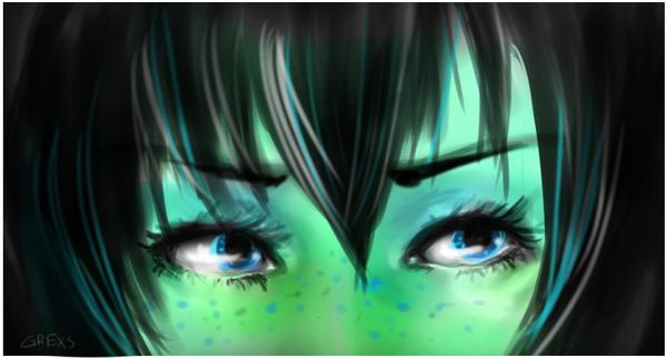bluegreen. by Grexs