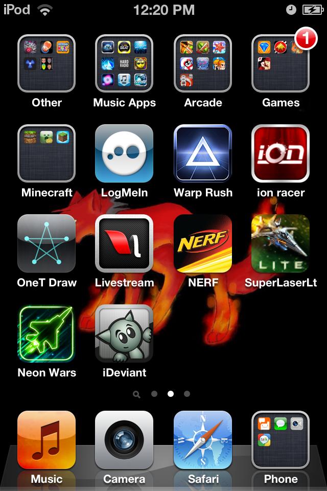 Pg 2 Of Ipod Apps By Tereuswolf46 On Deviantart