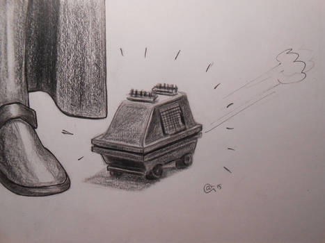 le petit aspirateur de l'Etoile Noire...