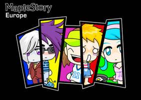 MapleStory chibi compilation by MisterMoka