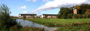 Dutch panorama landscape by MisterMoka