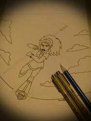 Superheroine by AuroraArt