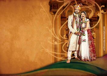 great indian wedding by prithusureka