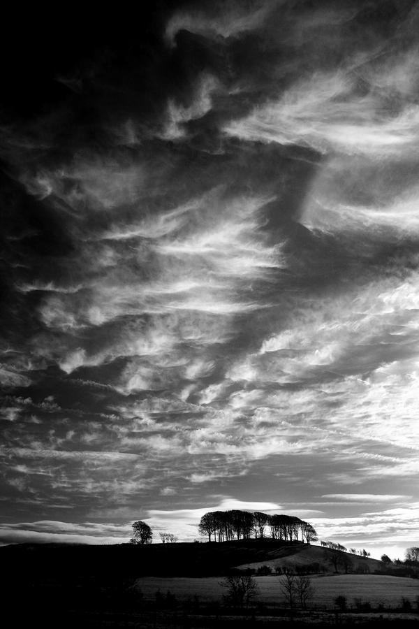 Twynholm: winter sky by Coigach